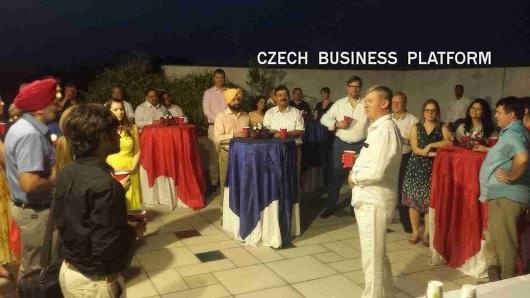 Meeting of the Czech Business Platform in India