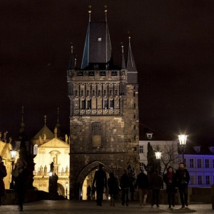 Prague - Charles Bridge and Towers