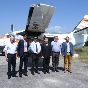 First Czech Aircraft L410 delivered to Nepal