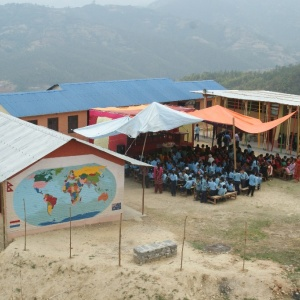 Bamboo School in Bal Prativa Village